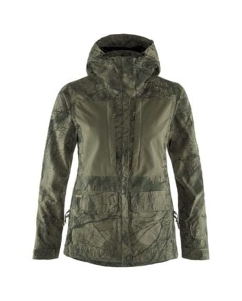 Fjällräven Lappland Hybrid Jacket W CAMO GREEN-LAUREL GREEN kjøper du på SQOOP outdoor (SQOOP.no)