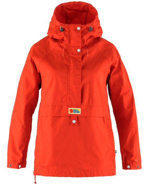 Fjällräven Vardag Anorak W TRUE RED kjøper du på SQOOP outdoor (SQOOP.no)