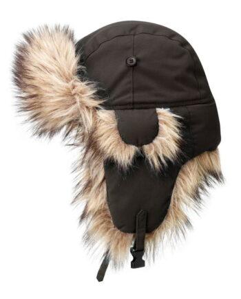Fjällräven Nordic Heater - varm vinterlue BLACK BROWN kjøper du på SQOOP outdoor (SQOOP.no)