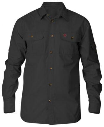 Fjällräven Singi Trekking Shirt LS M DARK GREY kjøper du på SQOOP outdoor (SQOOP.no)