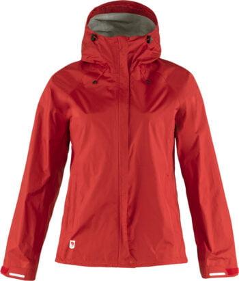 Fjällräven High Coast Hydratic Jacket W TRUE RED kjøper du på SQOOP outdoor (SQOOP.no)