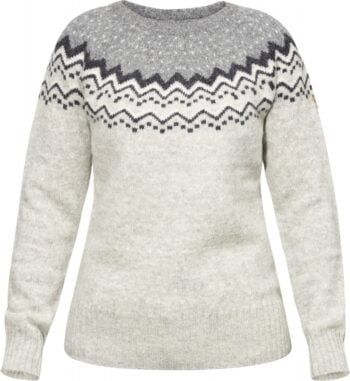 Fjällräven Övik Knit Sweater W (Velg farge) SAND kjøper du på SQOOP outdoor (SQOOP.no)